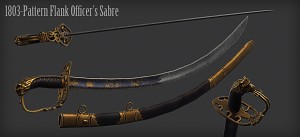 British Flank Officer's Sabre