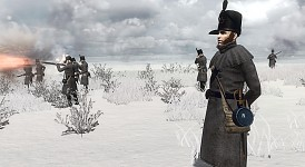 95th Rifles in Winter.