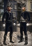 French Light Infantry Officers