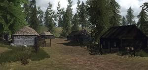 Small Ukrainian Village