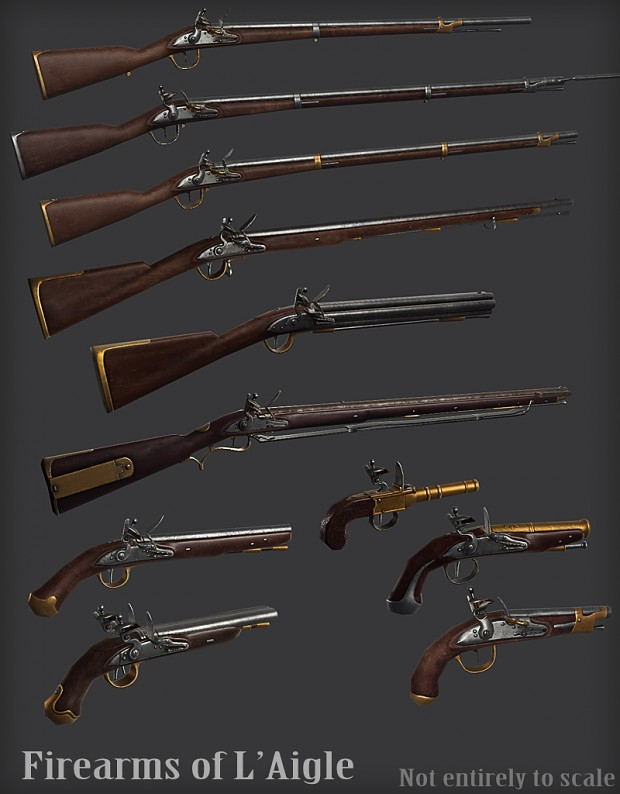 Weapons of L'Aigle