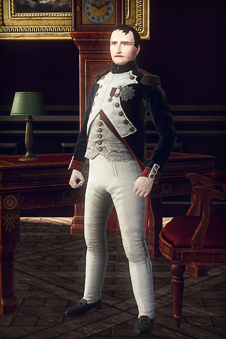 Napoleon in his office.