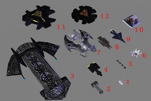Stargate Light Unit Set