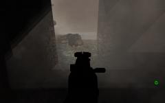 Testing new grenade type. CS gas.