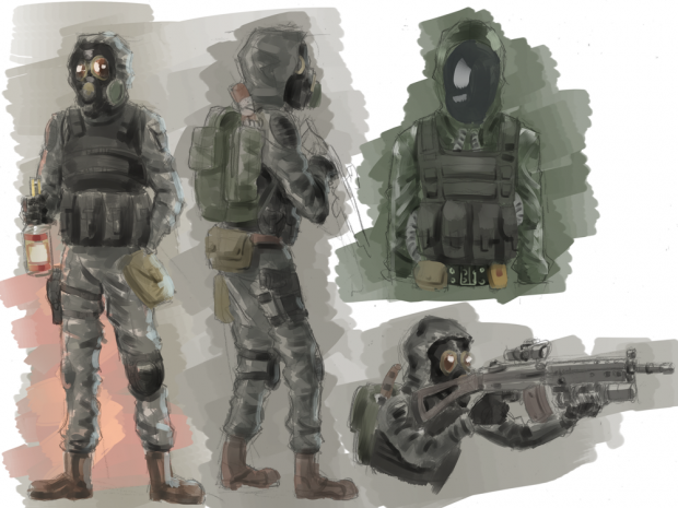 Concept 1 of the Vendetta faction by electrico325