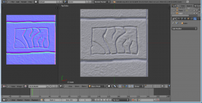 sculpt test of a texture make in blender 3