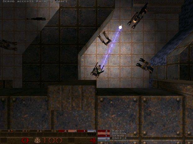 Lightning cannon in dm3