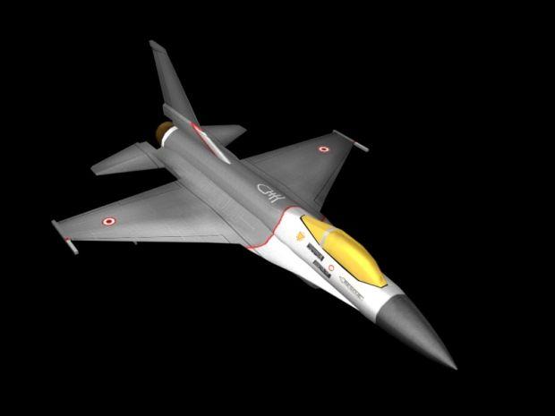 F-16 Render 1