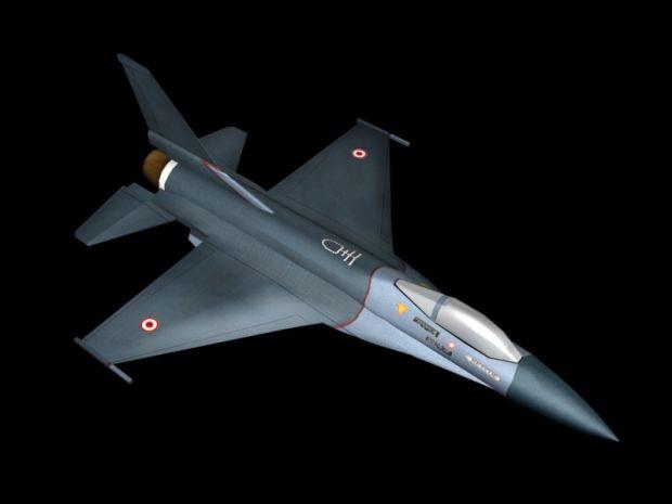 F-16 Render 2