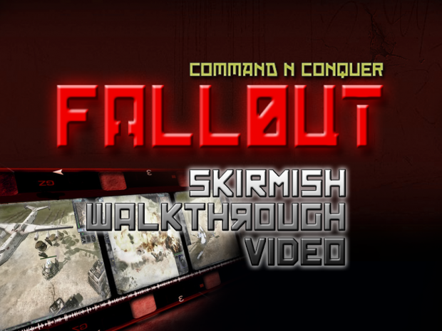 NATO Skirmish Walkthrough Video now online!
