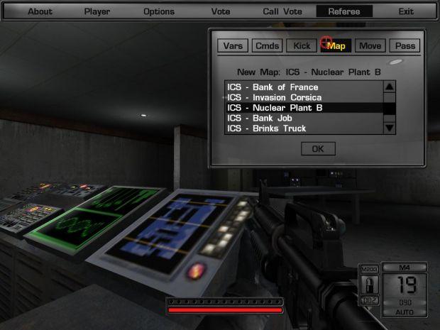 The New ICS Ref GUI Menu System