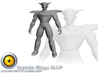 Captain Ginyu Untextured Model