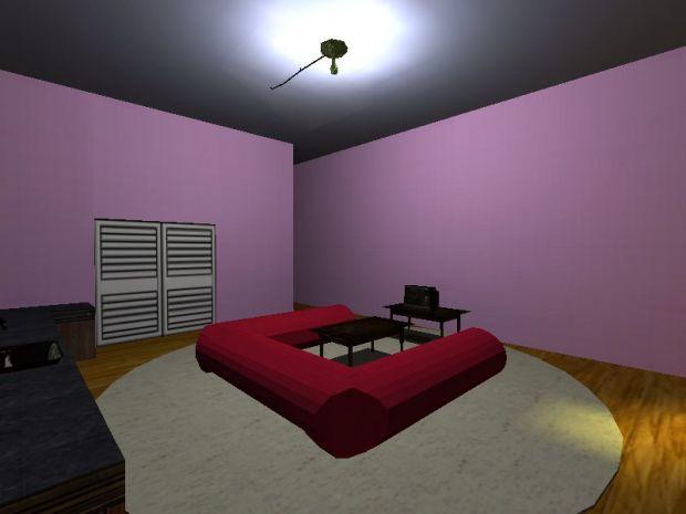 Kame House (interior)