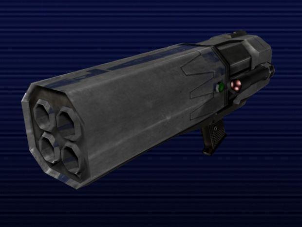Golan Arms Flechette Launcher