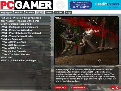 JR Evo 2.1 in PCGamer UK