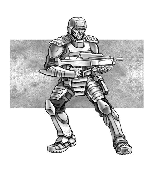 UTF Marine - Pose