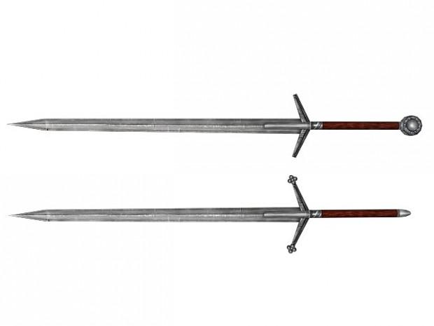 2 hand swords