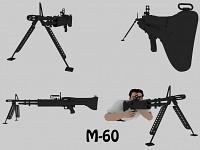 High poly M-60