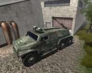 Russia Wolf-Shearwater (Mobile Artillery)