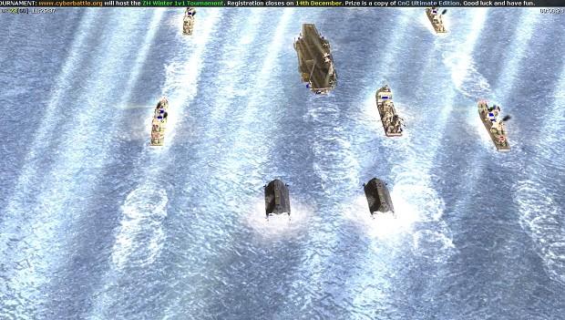 Aircraft carrier group