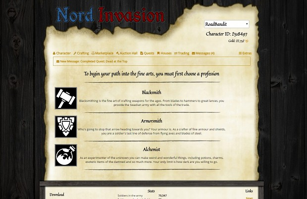 Nordinvasion Website