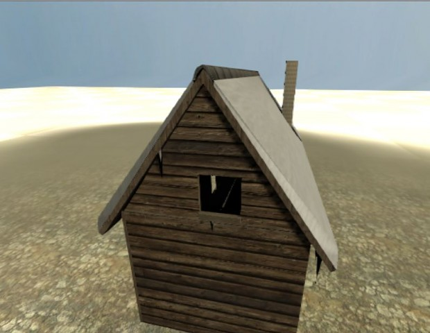 Screenshot of the finished house