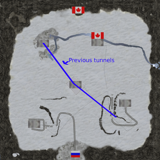 Screenshots of the  new flag locations