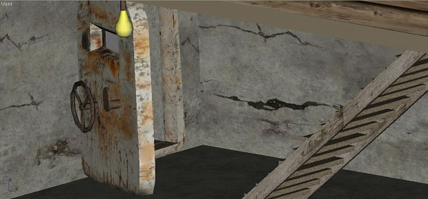 One of the 2 secret entrys to the bunker-complex