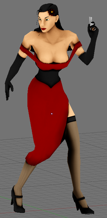 First character model
