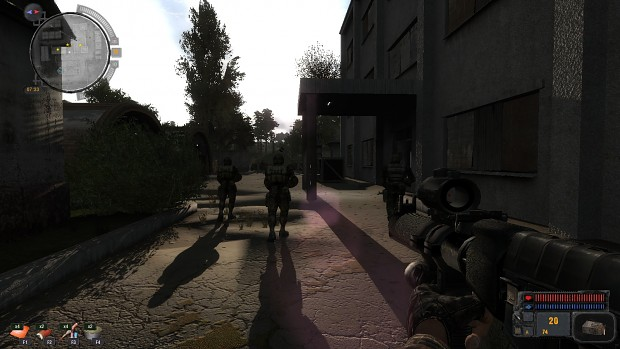 Again military, patrol
