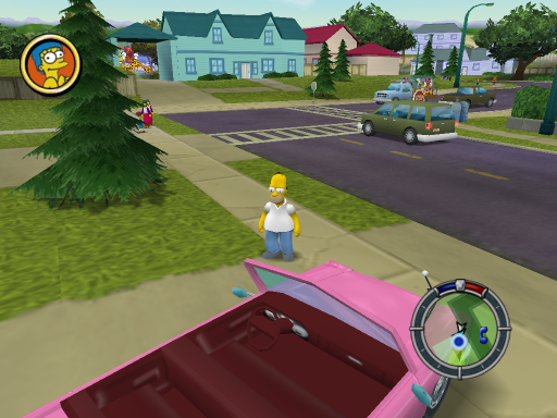 Simpsons Family Car Interior Update #1