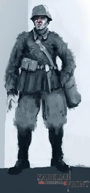 Concept Art - Finnish Soldier