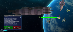 Basilisk Heavy-Starfighter