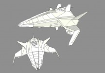 Novus ''Unnamed'' Heavy Starfighter