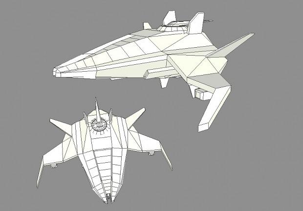 Novus ''Unnamed'' Heavy Starfighter