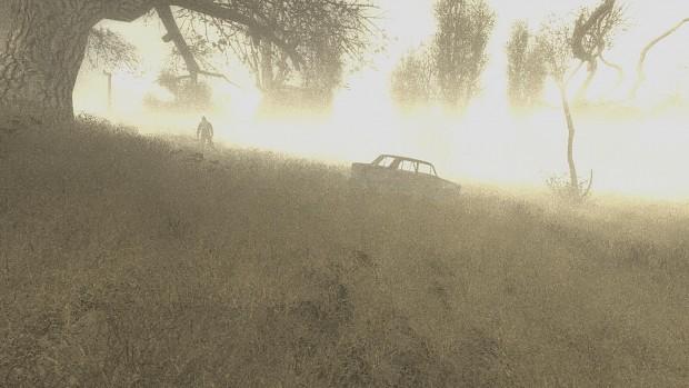 Volumetric fog demonstration