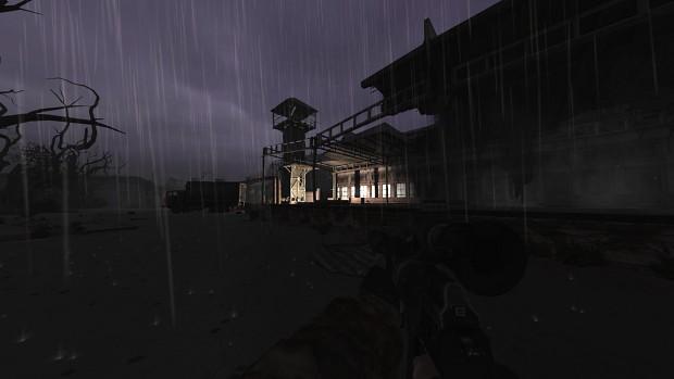 Flashlight grenade illumination