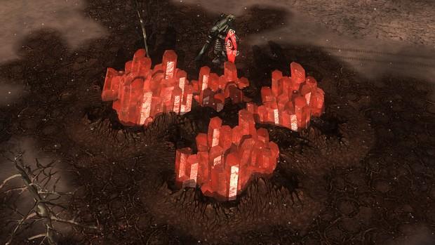 Red Tiberium chasm