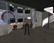 SGC Control-Room & General Hammond...