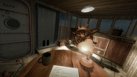 Cabin of a ship