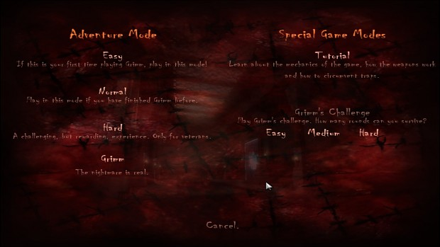 Skill Levels in Grimm