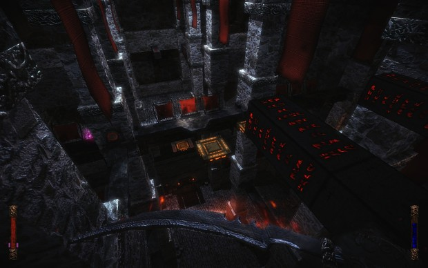 Finished Lighting the DarkWarior Complex Main Area