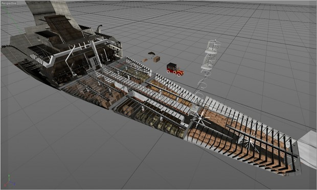 Cargo hold WIP