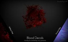 Blood Decals WIP