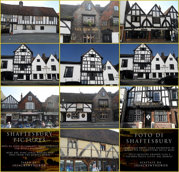 Shaftesbury concept pictures - Large houses / Inns