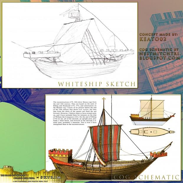 Whiteship - Cog concept art by Keato02