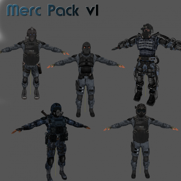 Merc Pack Preview
