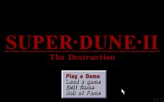 Super Dune II Classic - Title Screen