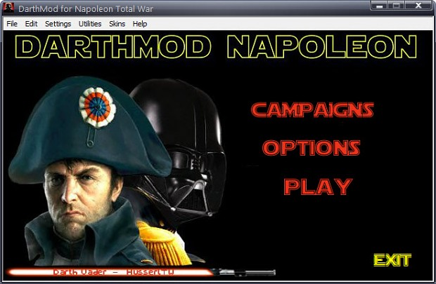 The Launcher of DarthMod Napoleon v2.0