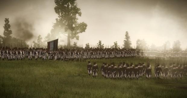 DarthMod Napoleon v2.5 battle screenshots
